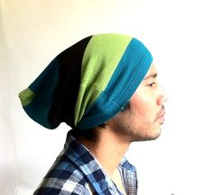 Mens Slouch Beanie man hat men clothes guy gift  by MissTopKnot, $22.00