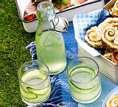 This delicately coloured, refreshing take on the classic gin and tonic makes a perfect picnic tipple