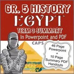 Grade 5 History Term 3 - Powerpoint slides and PDF Summary in English - Teacha! Egypt Information, Life In Ancient Egypt, Class Presentation, Egypt Tattoo, Social Science, Summary, Teaching Resources, Knowledge, Teacher