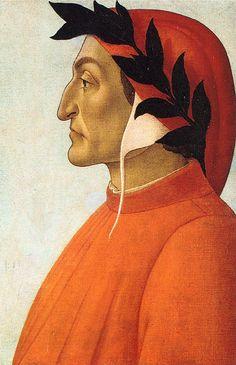 Портрет Данте (ок.1495). Sandro Botticelli (1445-1510)