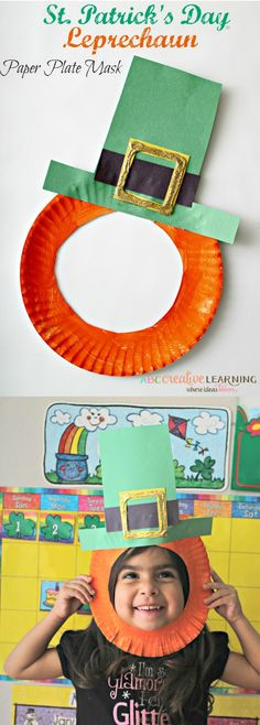 Easy art projects for kids st patricks day paper plates 49 ideas for 2019 March Crafts, St Patrick's Day Crafts, Daycare Crafts, Classroom Crafts, Holiday Crafts, Saint Patricks Day Art, St Patricks Day Crafts For Kids, Toddler Art, Toddler Crafts