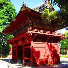 Nezu-jinja Shrine in Tokyo's Bunkyo ward is one of Japan's oldest shrines and its architecture is unique in that it was built in Gongen-style which has been maintained until today. The shrine is also famous for the Bunkyo Azalea Festival, Mid April- Early May. #japan