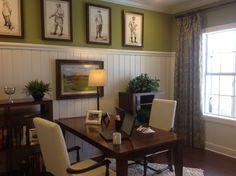 Denis' golf room