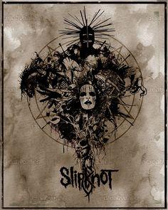 Slipknot Poster by Ben Fellows on CreativeAllies.com