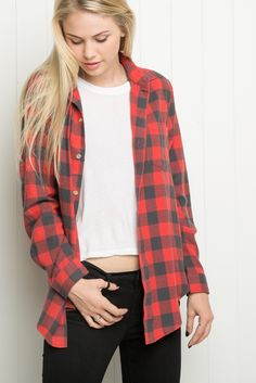 Brandy ♥ Melville | Wylie Flannel - Just In