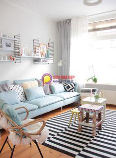 màu sơn phòng khách nhà chung cư đẹp nhất 27
