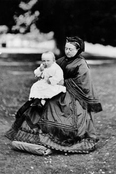 Queen Victoria with grandson Prince Wilhelm of Prussia. She had no idea of the carnage he would cause.