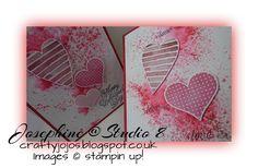 Crafty JoJo`s Blog: Super cute Valentine Cards & free Video Tutorial