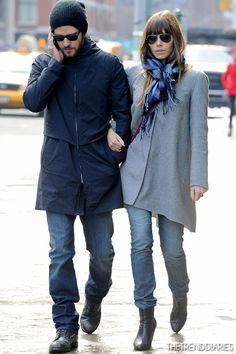 Jessica Biel out in New York City, New York - December 4, 2012