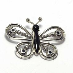 Joyeria Plata y Azabache Artesania Galicia Home Page Silver and Black Jet Crafts Jewelry Crafts Tax Free, Gold Work, Beautiful Butterflies, Dragonflies, Jewelry Crafts, Belly Button Rings, Jet, Arts And Crafts, Butterfly