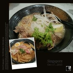 #FD1510 #JapaneseFood #Ramen   牛肉清汤拉面。