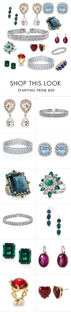 """A Peek in the Jewelry Box"" by mnmaier on Polyvore featuring Dolce&Gabbana, Bling Jewelry, Konstantino, Avon, Apples & Figs, BaubleBar, CARAT* London, Anaconda and Betsey Johnson"