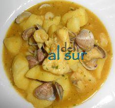 La cocina malagueña-Alsurdelsur: Cazuela de rape