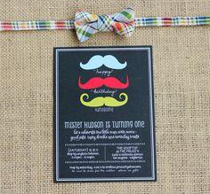 Anniversaire un an {Moustache}