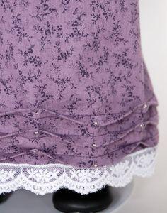 Purple Regency Era 18 inch American Girl Doll Dress Caroline. $40.00, via Etsy.