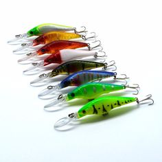 one pcs 9cm/3.54in 6.5g/0.12oz Lure fishing tackle lure bionic bait lure fishing lure minnow crankbait trout tackle ** Clicking on the VISIT button will lead you to find similar product