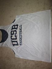 NCCA-COLLEGE UCSB MENS REVERSIBLE NIKE BASKETBALL MENS JERSEY XXL USED CONDITION