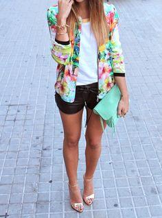 flowers fashion girl