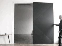 The Evolution  Flip Panel Door