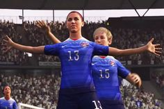 FIFA Video Game Scores Big by Adding Female Players