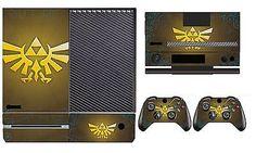 Zelda 255 Vinyl Cover Skin Sticker for Xbox One & Kinect & 2 controller skins
