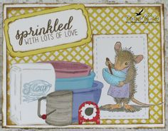 I made this for the House Mouse & Friends Monday Challenge:  HMFMC195