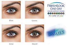 Freshlook One Day Color Pure Hazel Contact Lenses 10 Pack - Freshlook One Day C. - Freshlook One Day Color Pure Hazel Contact Lenses 10 Pack – Freshlook One Day Color Pure Hazel C - Types Of Contact Lenses, Contact Lenses For Brown Eyes, Natural Contact Lenses, Eye Contact Lenses, Coloured Contact Lenses, Cosmetic Contact Lenses, Pure Hazel Contacts, Grey Contacts, Color Contacts
