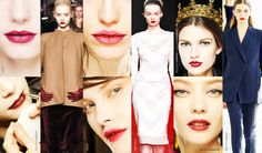 Fall Winter 2014 beauty trend review make up tips - Swide