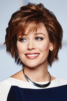 Without Consequence by Raquel Welch Wigs - Human Hair, Lace Front, Mono Top Wig Shaggy Short Hair, Short Thin Hair, Short Hair With Layers, Short Hair Cuts For Women, Layered Hair, Short Blonde, Edgy Haircuts, Bob Hairstyles, Curly Hair With Bangs