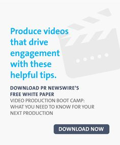 Video Production Boot Camp: What You Need to Know for Your Next Production Paper Video, Pr Newswire, Marketing Professional, Marketing Ideas, White Paper, Your Story, Content Marketing, Need To Know, Storytelling