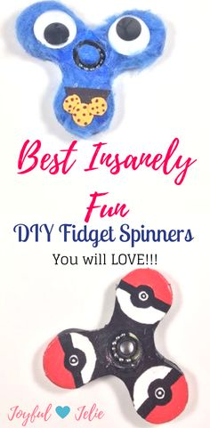 There are a lot of fidget spinners DIY's out there, but I could not resist the temptation of doing some for you guys. This toy has come to stay for a while. And that is because is awesome. I enjoy playing with it so much even though I am not a child anymore. So I found an easy way to make your own fidget spinner and customize it as you want.  -Joyful Jelie