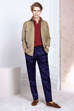 Dunhill Spring 2015 Menswear Fashion Show