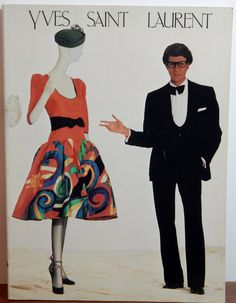 Vintage Yves St. Laurent 1983 Metropolitan Museum Book Out of Print by OffbeatAvenue on Etsy