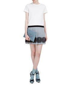 Red Valentino Short bi-material dress | Lindelepalais.com 62358