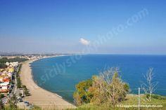 Der schoene Strand von Agnone Bagni (Syrakus, Sizilien) / The beautiful beach of Agnone Bagni (Syracuse, Sicily)