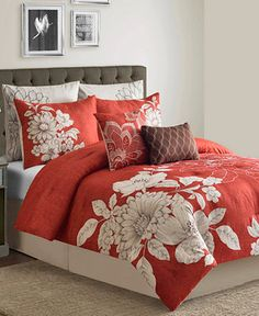 Stella 8-Piece California King Comforter Set - Sale Bed in a Bag - Bed & Bath - Macy's