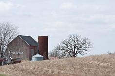 Rural USA: Wisconsin Hwy.23 near Mineral Point, WI
