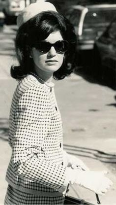 The lovely Jacqueline Kennedy-loved her style