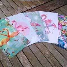 Neue divider für meinen planner...... ich hab' dann auch mal Flamingooooos!!!