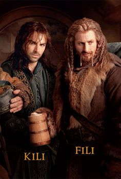 Cannot get used to sexy dwarves....The Hobbit: An Unexpected Journey (Kili and Fili)
