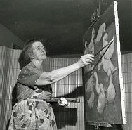 "Marie Hull (1890-1980).  Marie Hull was most known for her contributions to the art world in Mississippi and the South.  She was born in Summit, MS on Sept. 28, 1890, and didn't pursue art until her early twenties.  Hull's work was inspired by her surroundings.  She won numerous prizes and Mississippi Governor William Walter designated October 22, 1975 ""Marie Hull Day."" #Mississippian #OTD #MarieHullDay"