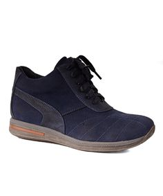 Love this Navy Balance Sneaker by CheckList on #zulily! #zulilyfinds