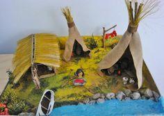 First Nations Diorama | Momtactics