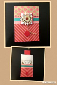 All-occasion handmade folder-style card