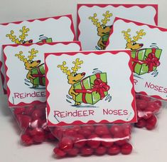 Reindeer Noses - cute gift for the kids at Christmas time! What do you think @Darci Johnson Johnson Klea
