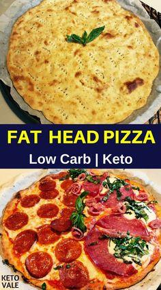 Best Keto Fat Head Pizza Low Carb Recipe via @ketovale