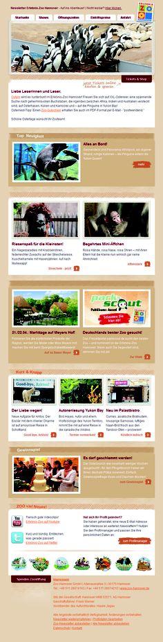 Design für den Zoo Hannover