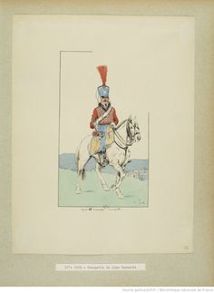 French; 10th Hussars, Trumpeter, 1806 by E.Fort