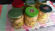 Cum se face compot de gutui. Roman, Mason Jars, Make It Yourself, Canning, Mason Jar, Glass Jars, Jars