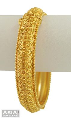 Gold Indian Kada (Matte finished)